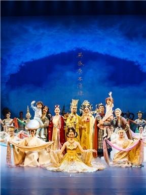 西安歌舞剧院《传丝公主》