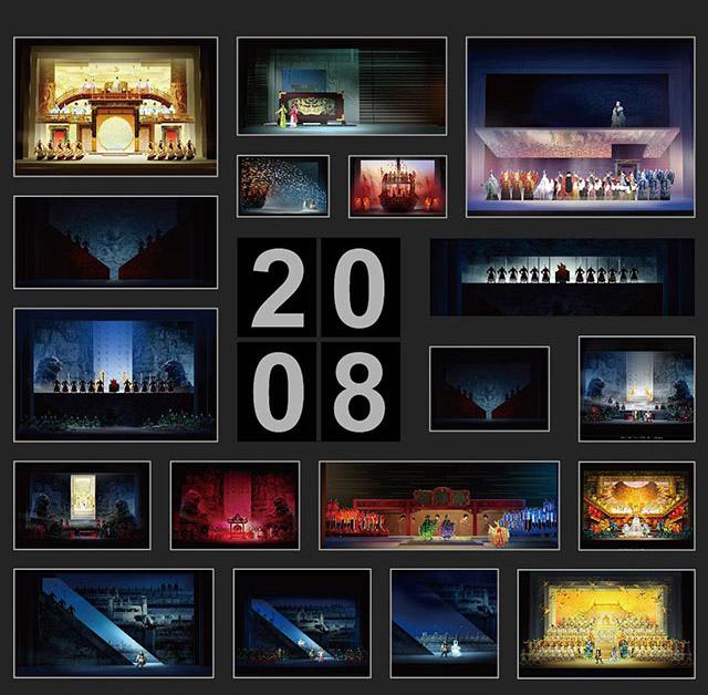 国家大剧院7年来的自制剧目舞美设计图