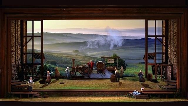 乡村舞台设计图片
