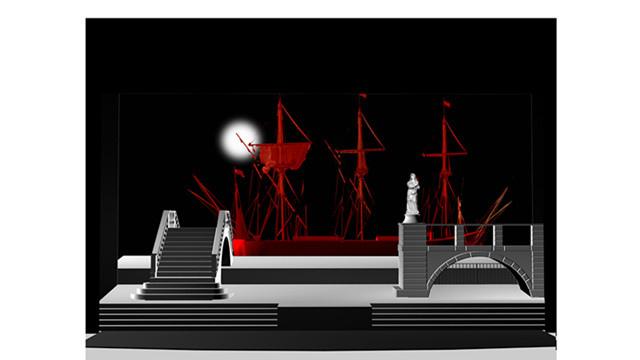 国家大剧院全新制作《歌女乔康达》设计图